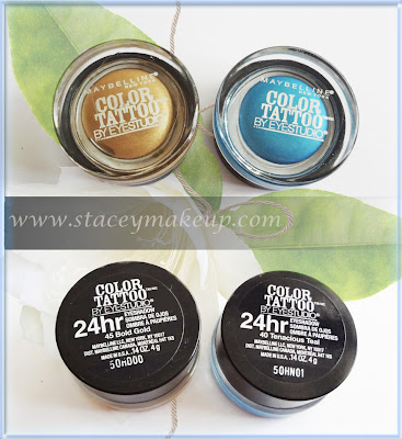 Maybelline eyeshadows