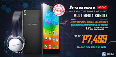 Lenovo A7000 Third Lazada Sale Tomorrow, Bundled with Audio Technica Headphones