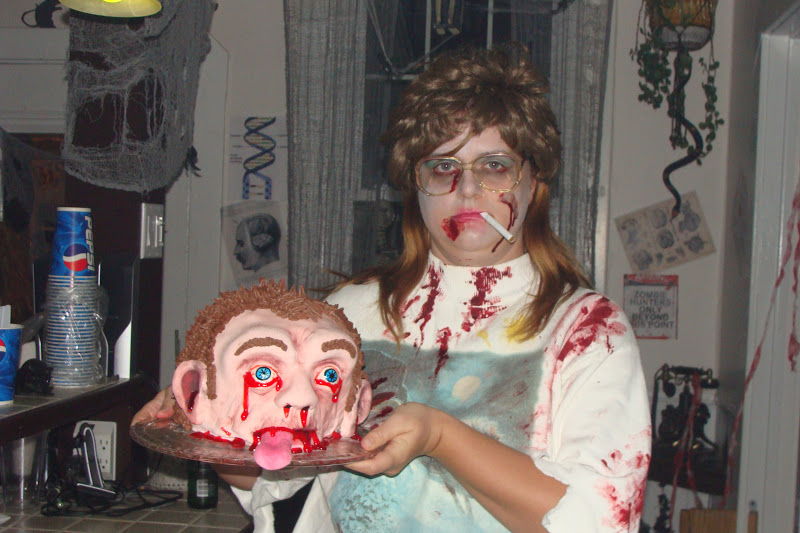 Coiffure de zombie femme