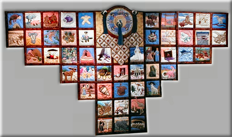 Wall Hanging Quilts the cursed quilt group