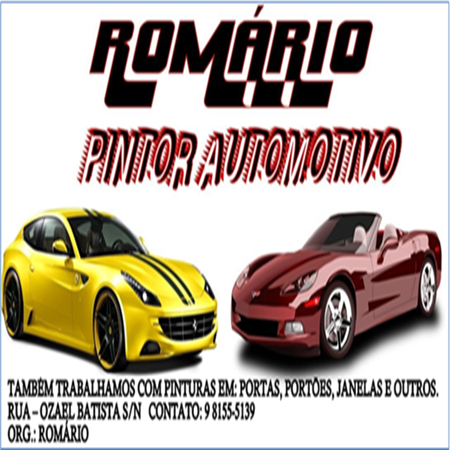 Romário Pintor Automotivo