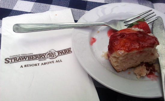 Makanan sedap di Strawberry Park Resort, Cameron Highlands