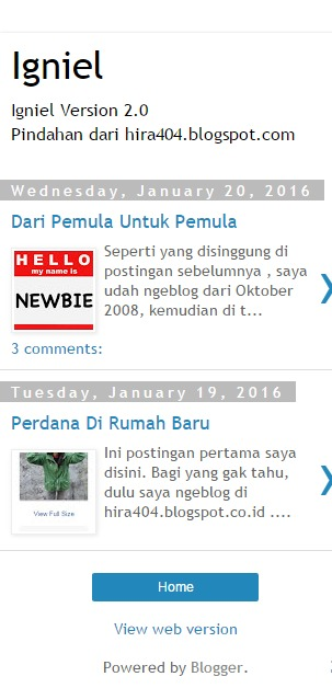 igniel.com - Tips Memilih Template