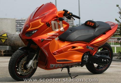 Yamaha Tmax Tuning   Havey Bikes