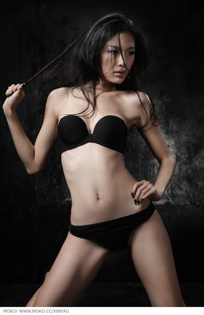 Chinese Hot Girl Xinyao in Lingerie