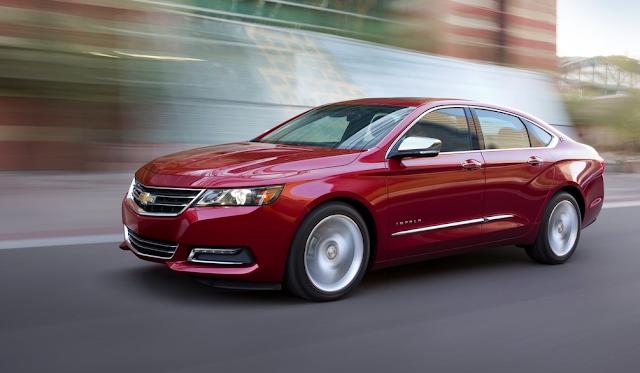 2015 Chevrolet Impala red