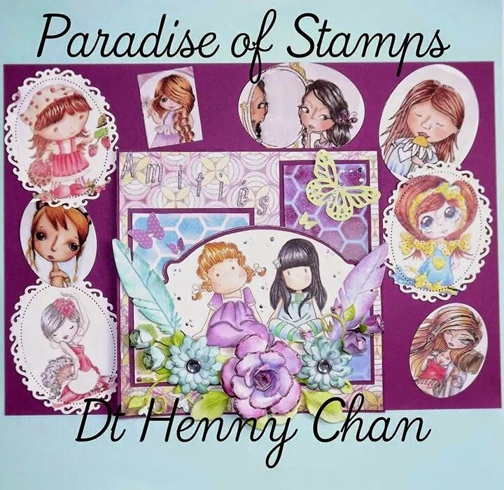 DT Member at Paradise of Stamps (Team 2)