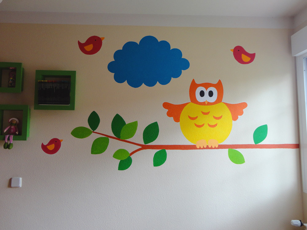 Murales infantiles para la pared imagui for Murales infantiles para pared