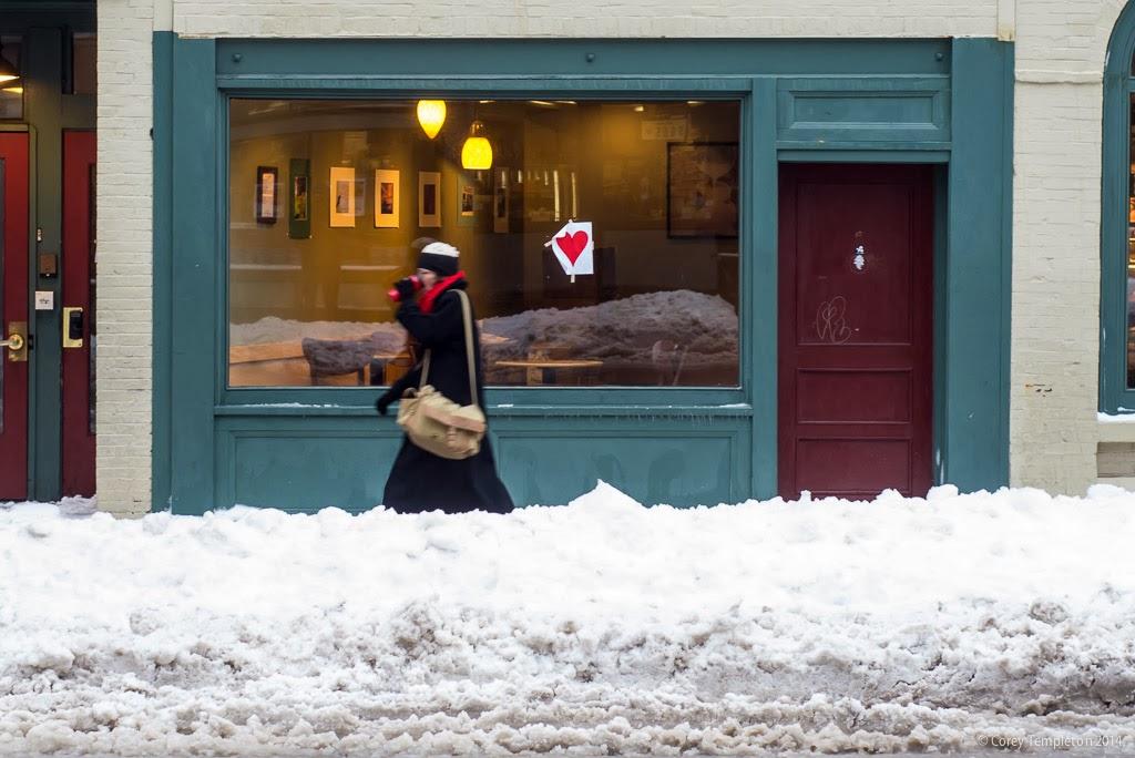 Portland, Maine Winter 2014 February Valentineu0027s Bandit Phantom Heart Photo  By Corey Templeton