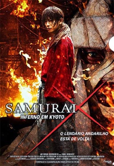 Download Samurai X: O Inferno de Kyoto AVI + RMVB Dublado Baixar Filme 2015