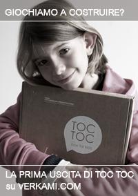 TOC TOC box for kids da oggi disponibile
