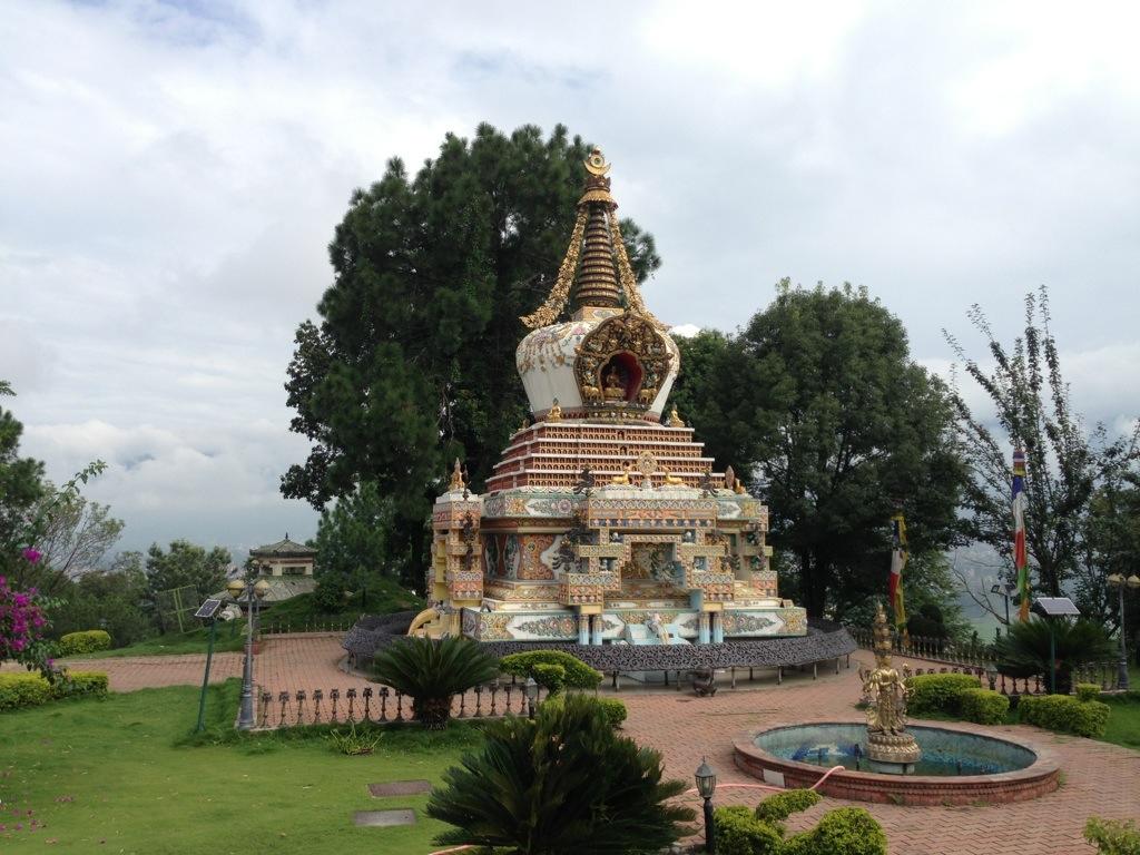 Stupa at Kopan Monastery in Kathmandu