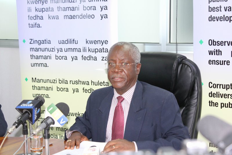 Mwenyekiti wa Bodi ya PPRA, Balozi Matern Lumbanga