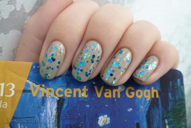 OPI Did You 'ear About Van Gogh? + Girly Bits Wet Bikini