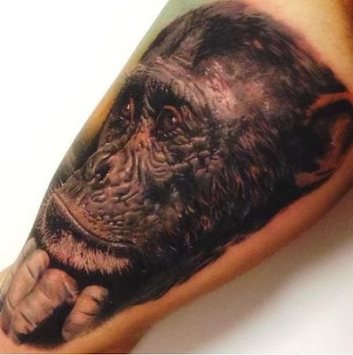 A Monkey Tattoo