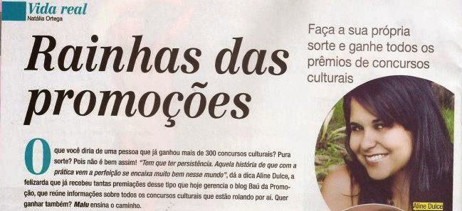Entrevista com  Aline Dulce (A Bona do Baú)