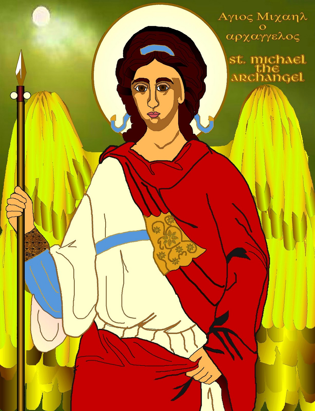 St. Michael the Archangel Drawings