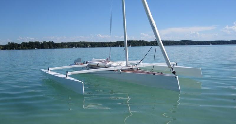 Dudley Dix Yacht Design: Trika 540 Demountable Trimaran