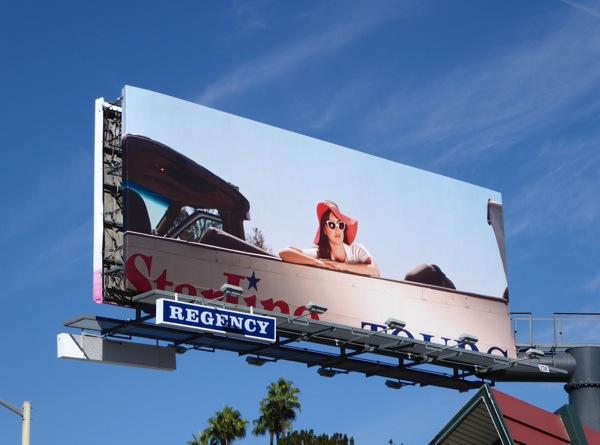 Lana Del Rey Honeymoon teaser billboard