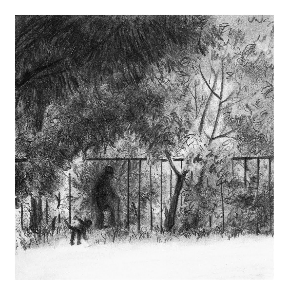 Journey Through The Seasons In My Small Russian City Urban Sketchers Pin By Danielle Morgan On Lofty Living Pinterest Hole Is A Must For Each And Every Fence No Matter How Thick Metal Strong Construction Someone Will Choose To Change