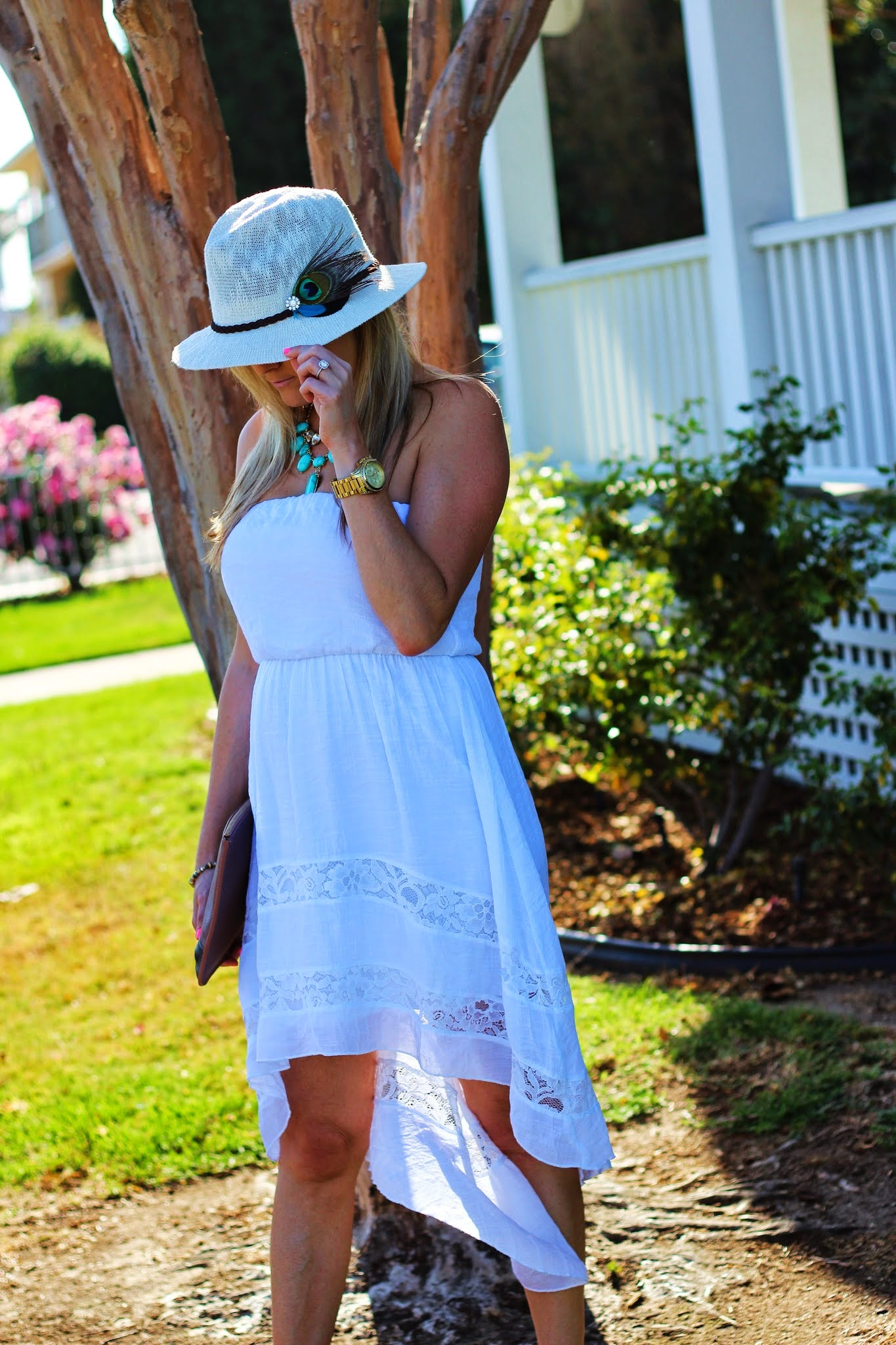 High Low Dresses Nordstrom High low blouson dress