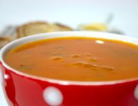 Sopa de Cenoura e Tomate (vegana)