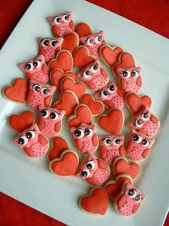 biscoito de coruja