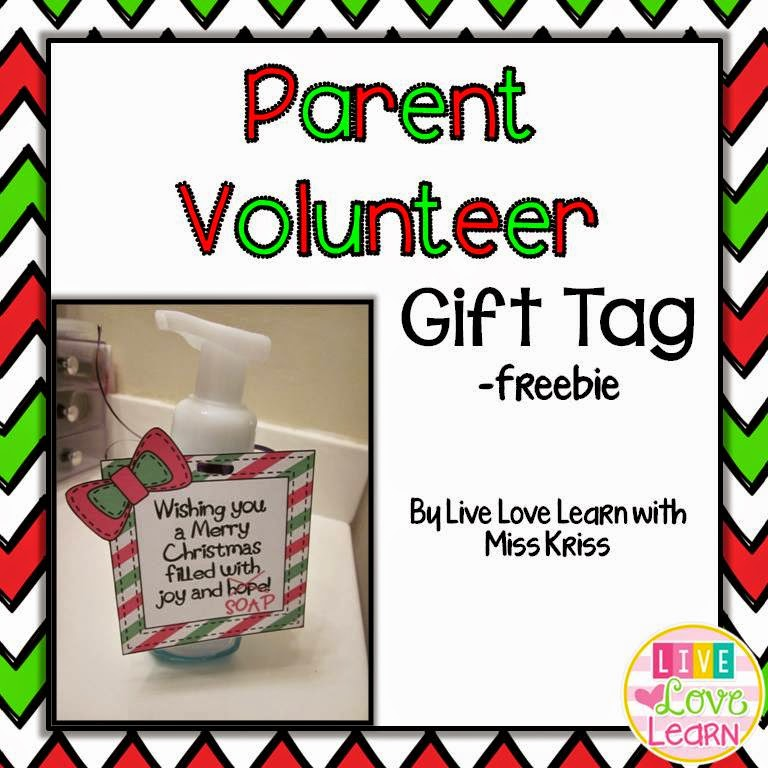 http://www.teacherspayteachers.com/Product/Parent-Volunteer-Soap-Gift-Tags-1605935