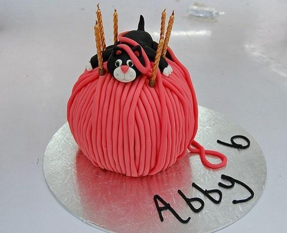 Image Result For Yarn Cake Happy Birthday