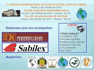 3° JORNADA INTERNACIONAL DE PODOLOGIA DEL HOSPITAL PARMENIO PIÑERO