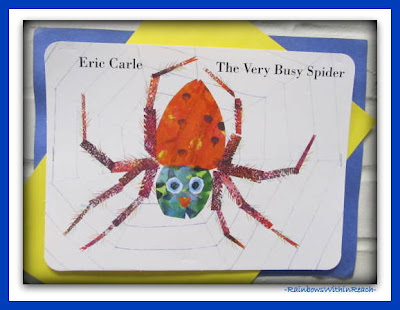 photo of: The Very Busy Spider by Eric Carle