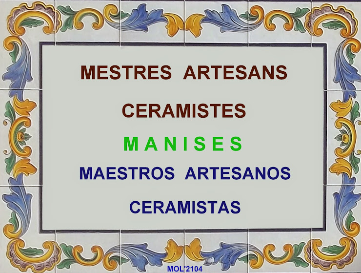MESTRES ARTESANS CERAMISTES-MAESTROS ARTESANOS CERAMISTAS