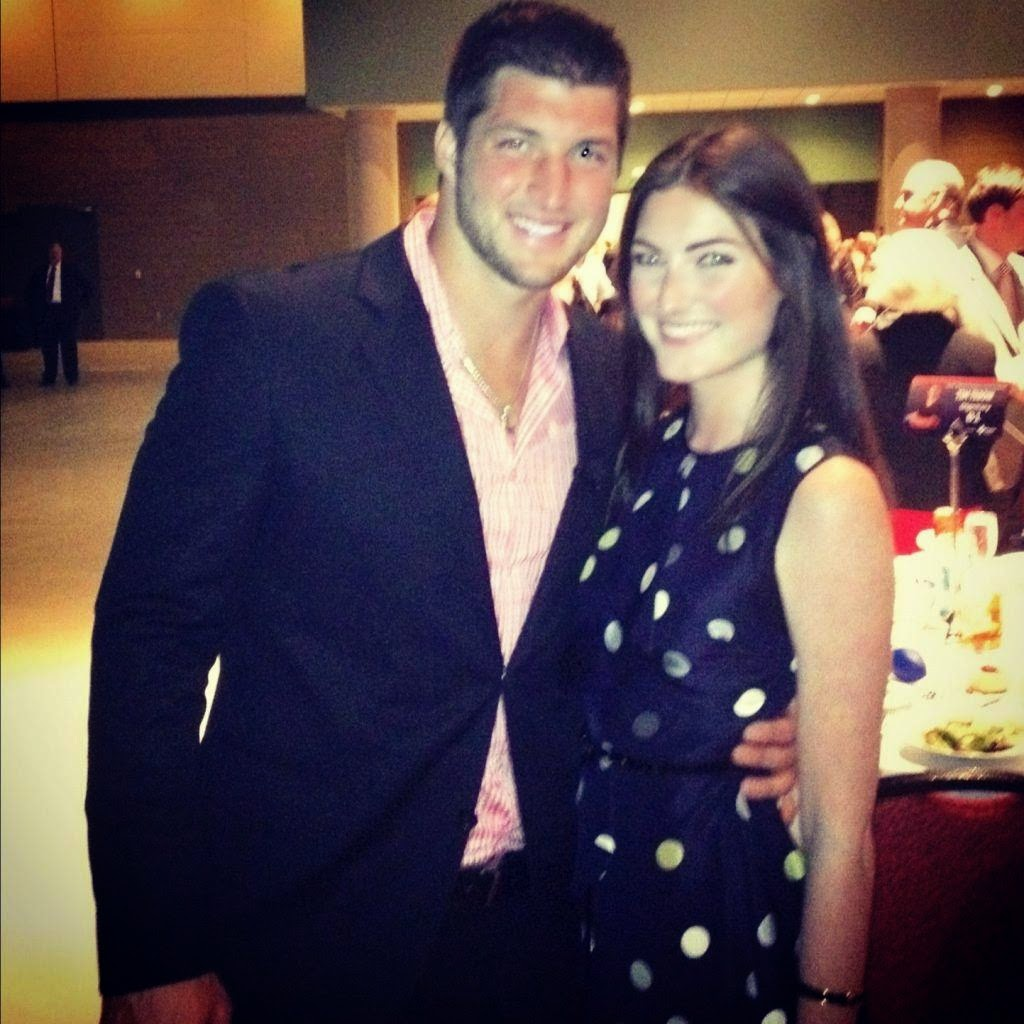 Tim tebow girlfriend for pinterest