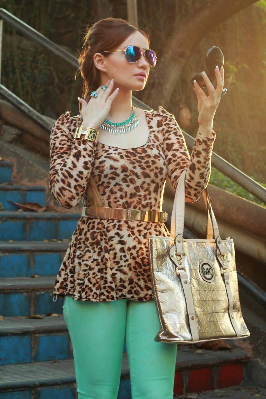 A feisty leopard slut amp her man 9