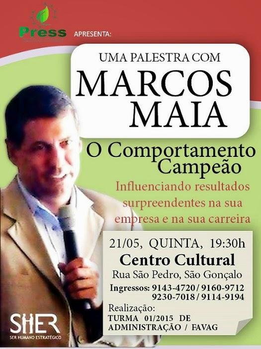 PALESTRA O COMPORTAMENTO CAMPEÃO - CURSO DE ADMINISTRAÇÃO DA FAVAG