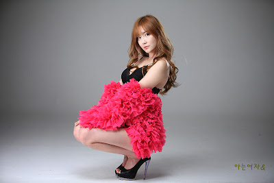 Choi Seul Ki Sexy in Lingerie