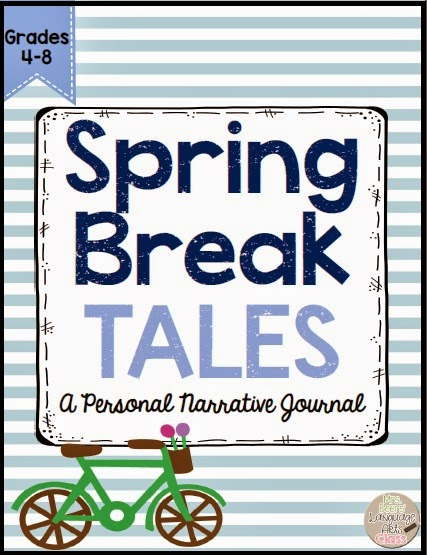 https://www.teacherspayteachers.com/Product/Spring-Break-Tales-A-Personal-Narrative-Journal-and-Writing-Resource-1782968