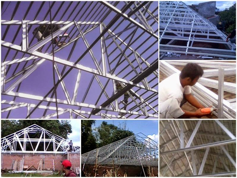 Jasa Pemasangan Rangka Atap Baja Ringan di Malang