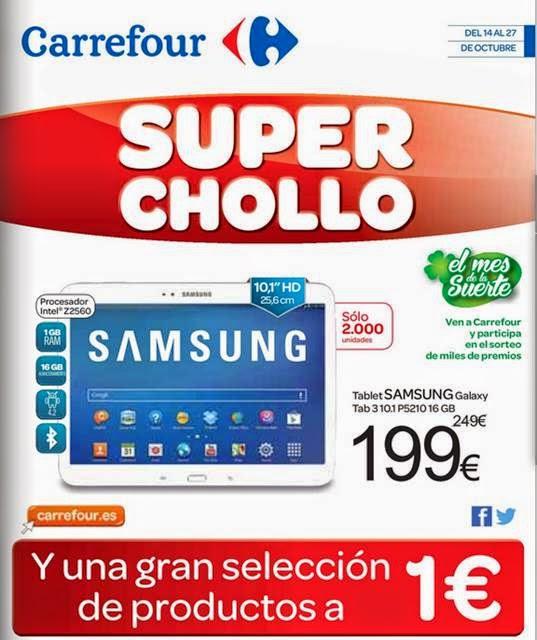 Carrefour Super Chollo Octubre 2014