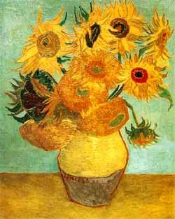 Plano de Aula  Os Doze Girassóis Van Gogh e o Livro dos Números Bichos e Flores