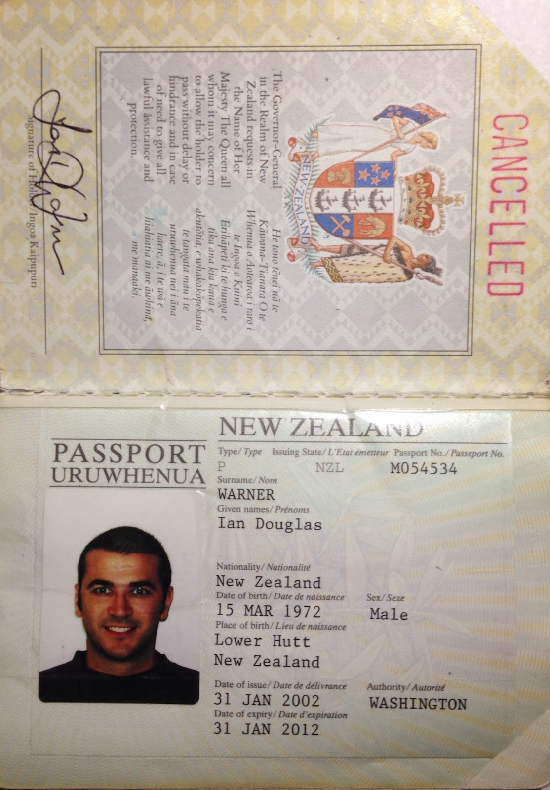 The tattered passport passports the one i used when i left new zealand in 1996 and traveled around europe it has my uk work permit and some great visas from places like egypt romania ccuart Choice Image