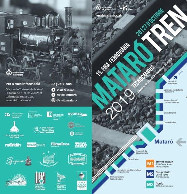 15a Fira Ferroviària MATARÓTREN 2019