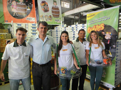 Seleção de frutas marca Chaves