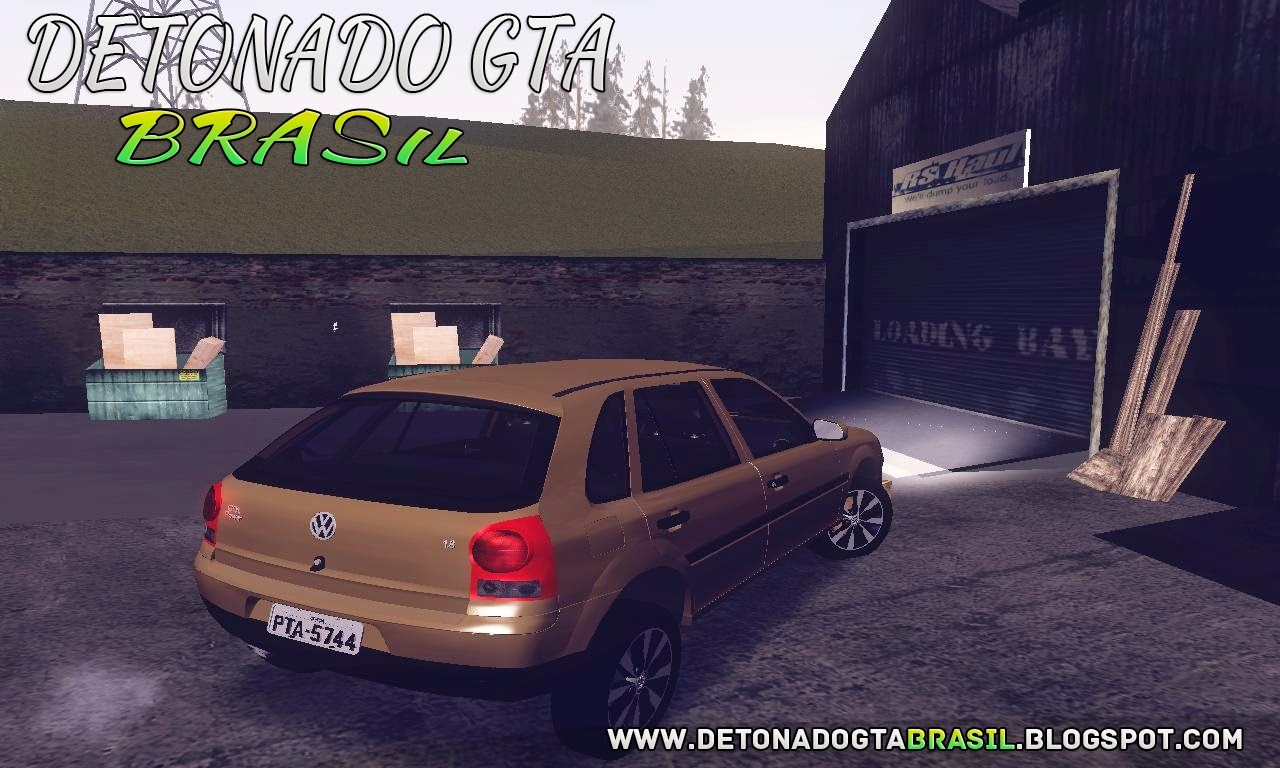GTA SA - Volkswagen Gol Power G4 2004