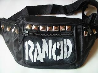 diy nerka torebka punk ćwieki trendy rock