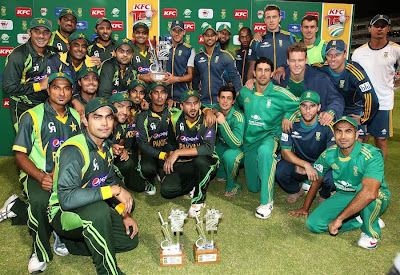 Pakistan, Sports, South Africa, Match, T20, Twenty20, Cricket, Cricketer, Trophy, Cape Town, Player, Winning Team