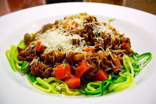 """Spaghetti Paleonese (AKA """"Spag Bol"""")"""