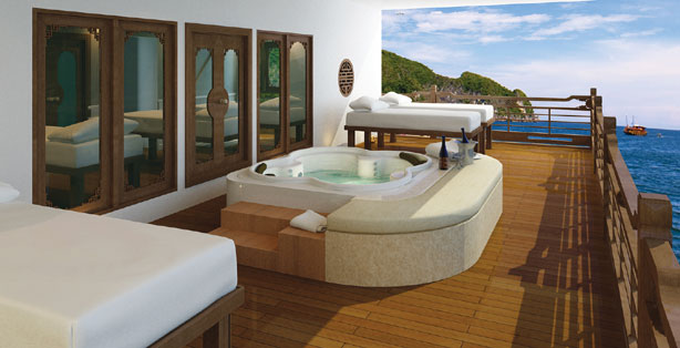 Spectacular View & Spa - Au Co Cruise