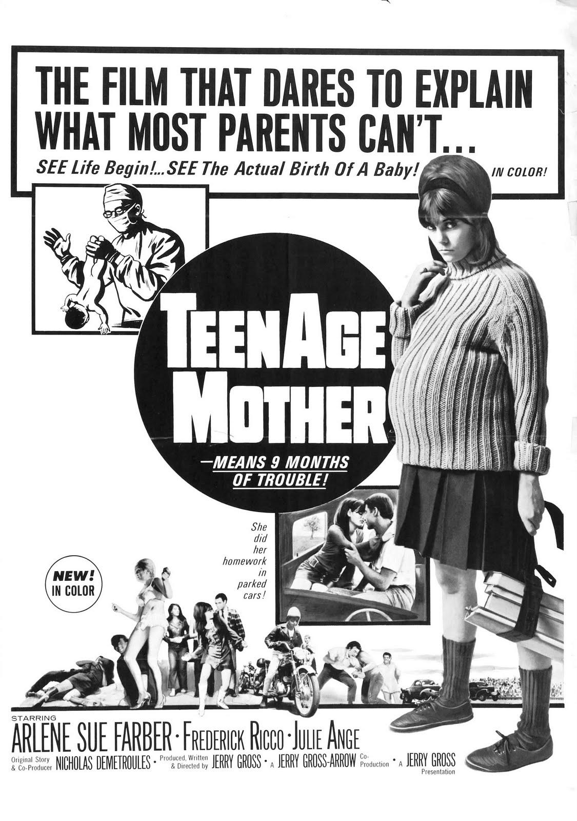 teenage%252Bmother%252Bposter Super Long Legs On Tight Teen