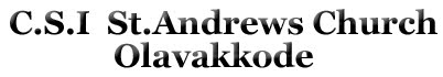 st Andrews Church Olavakkode